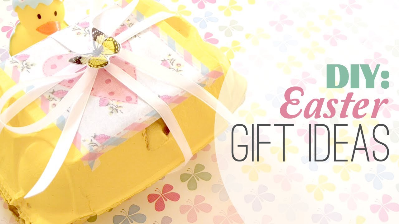 Diy 3 cute easter gift ideas for family friends youtube negle
