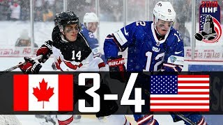 Canada vs USA | 2018 WJC Highlights | Dec. 29, 2017
