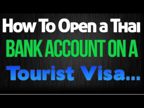 Starting Over in Thailand:  Opening a bank account