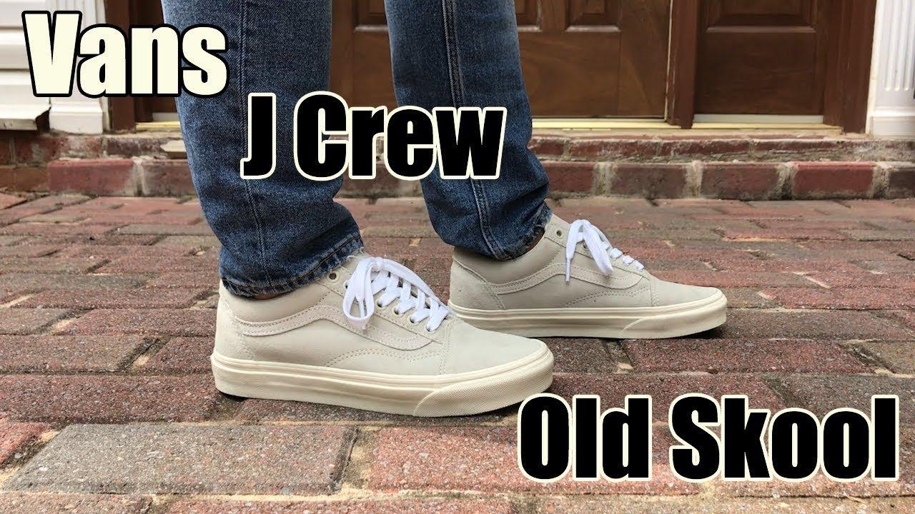 e4c59cc52b0f Vans x J Crew Old Skool Review + On Feet - YouTube