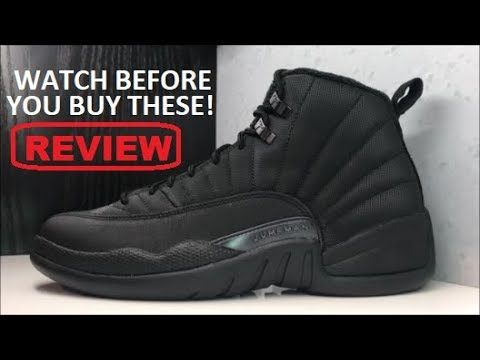 fb5fc7d89379d8 Air Jordan 12 Winterized Retro Sneaker Detailed HONEST Review - YouTube