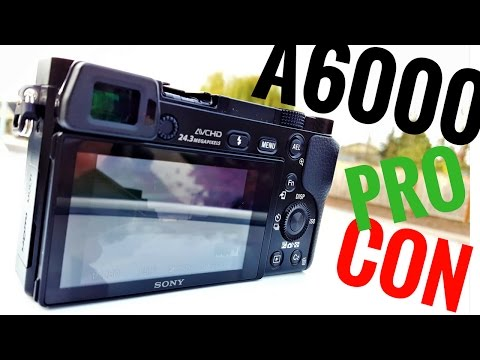 SONY a6000 PROS + CONS + OVERVIEW   Alpha a6000 Guide   Test Shots + Test Video + Pro/Con Demo
