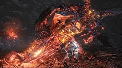 Dark Souls 3 Ringed City: Demon in Pain and Demon from Below Boss Fight (4K 60fps)