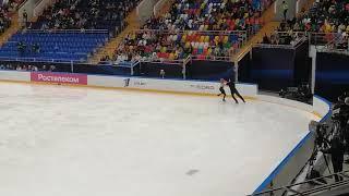 Тиффани Загорски и Джонатан Гурейро Ритм танец Контрольные прокаты 2020г