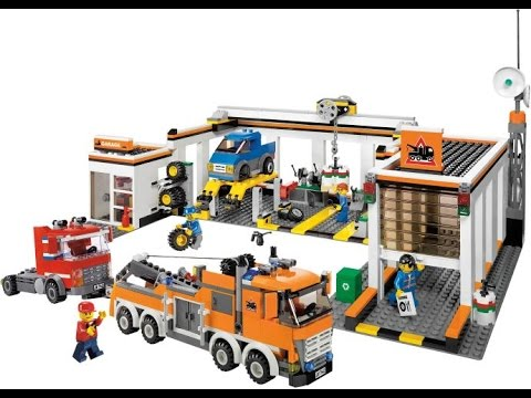 lego city le garage jouets pour enfants lego jouets youtube. Black Bedroom Furniture Sets. Home Design Ideas