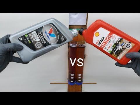 Valvoline Vs Rotella Engine Oil