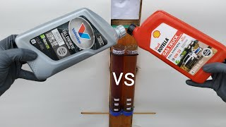 Valvoline vs Rotella engine oil