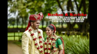 Keshan + Kavisha | 13.12.2020 | South Indian Wedding Montage | Wyebank Temple, Durban South Africa