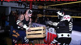 L.A PARK vs PAGANO vs DAMIAN 666   ¡¡¡ EN LUCHA EXTREMA !!!