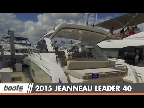 Jeanneau Leader 40video