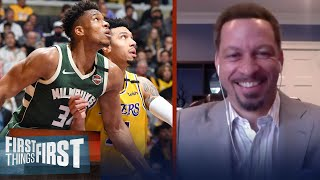 Bucks will win East, but may fall to Lakers or Clippers in Finals — Broussard | FIRST THINGS FIRST