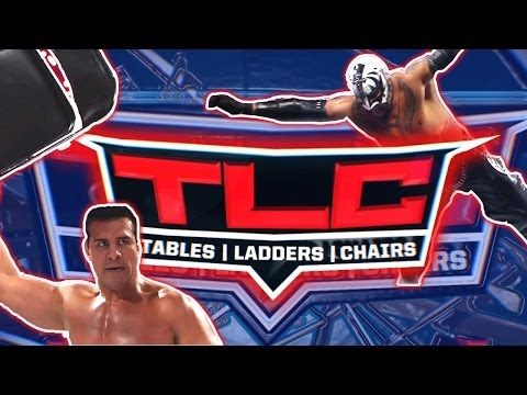 WWE TLC: Tables, Ladders and Chairs - This Sunday!