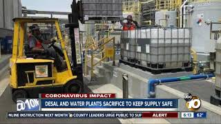 Desal and water plants sacrifice to keep supply safe