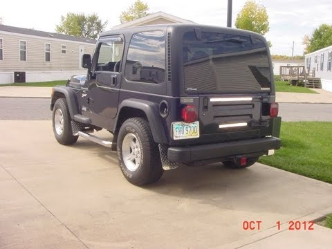 jeep wrangler hard top repair