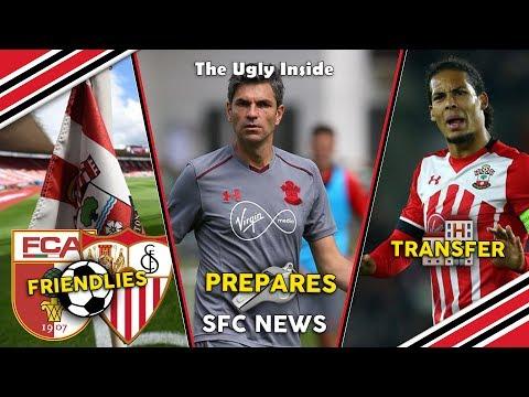 SFC News: Friendlies confirmed, Pellegrino prepares and Van Dijk transfer request | The Ugly Inside