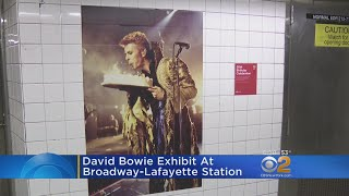 MTA Debuts David Bowie Exhibit At Downtown Station