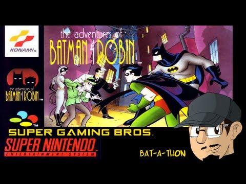 SGB Play: The Adventures of Batman & Robin (SNES) - Part 1