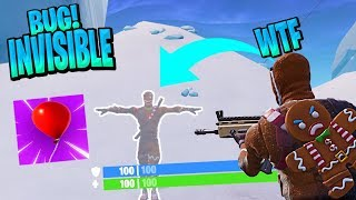 *NEW* BUG WITH GLOBES! TO BE INVISIBLE IN FORTNITE Fortnite: Battle Royale