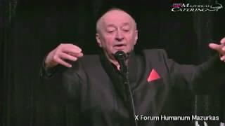 X Forum Humanum Mazurkas-koncert- Bogdan Łazuka -
