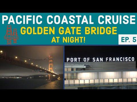 CRUISING UNDER THE GOLDEN GATE BRIDGE AT NIGHT L Cruise Vlog L Ep. 5