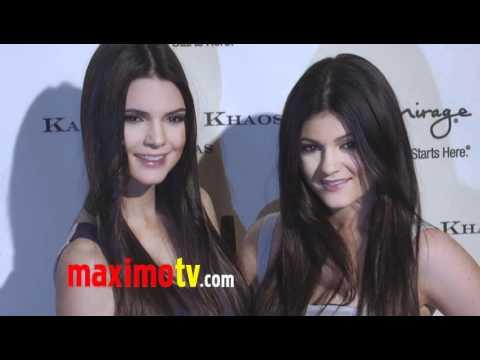 Kendall & Kylie Kenner At Kardashian Khaos Boutique Grand Opening In Las Vegas