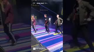 Смотреть видео Коротко о том, как Dsied band выступили в Москве онлайн