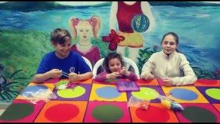 Вязание.Коврик , или подставка для стакана связано детьми.