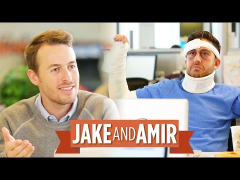 Jake and Amir: Full Body Cast