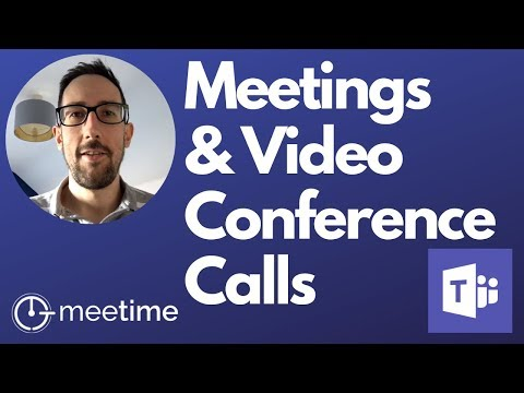 How To Use Microsoft Teams For Meetings And Video Conference Calls - Microsoft Teams Tutorial 2019