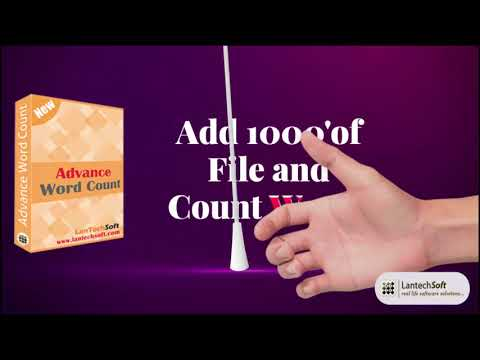 How To Count Words In Word Documents? Word Count Software