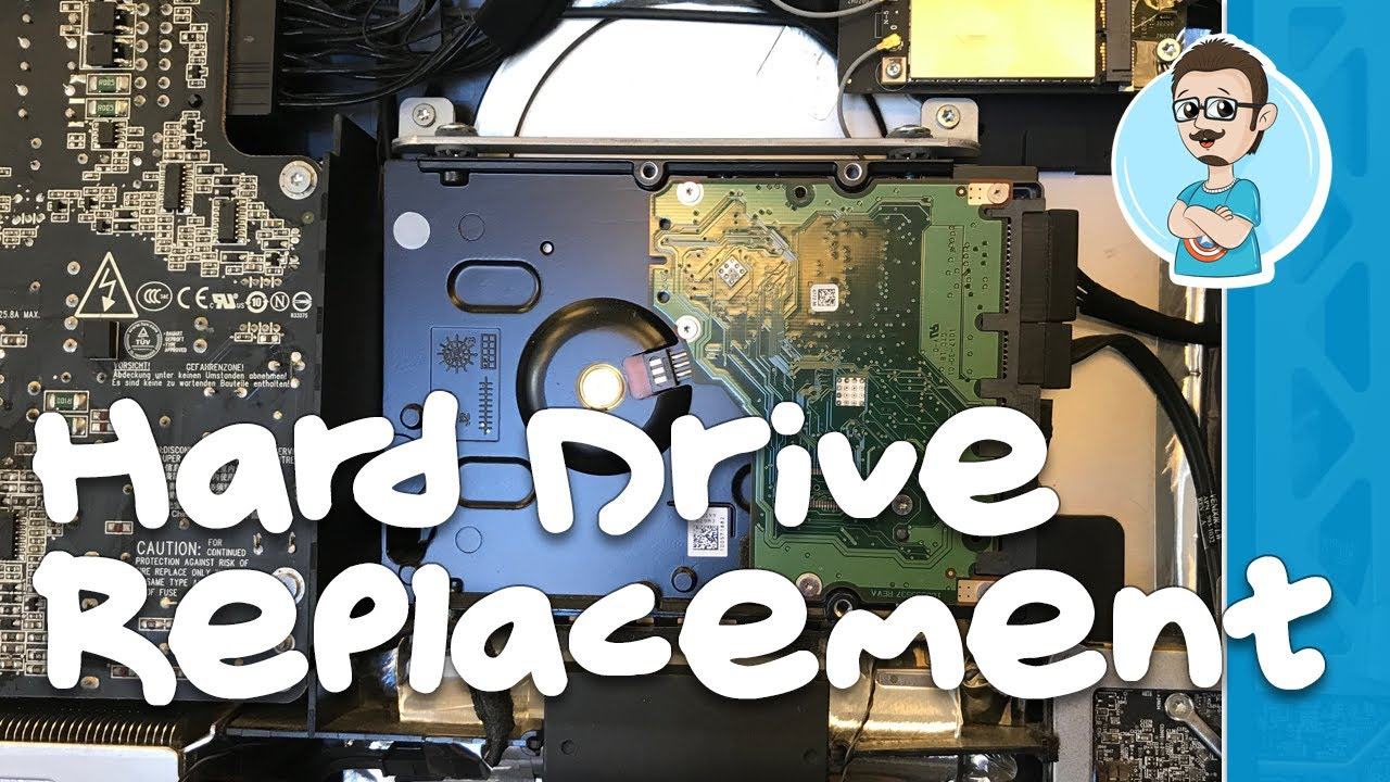 Hard Drive Replacement On Imac Late 2009 Youtube