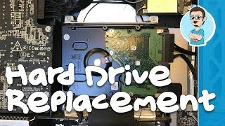Hard Drive Replacement on iMac Late 2009