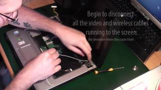 How To Fix or Replace A Toshiba A200 Equium DC Socket