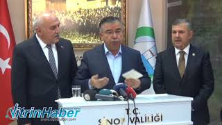 Milli Eğitim Bakanı İsmet Yılmaz Sinop'ta