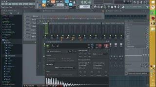 Видео урок как работать на FL Studio 12 (lesson 6 - КАК ПИСАТЬ БИТ?) Часть 1