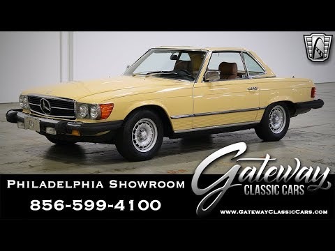 1982 Mercedes Benz 380SL, Gateway Classic Cars - Philadelphia #547