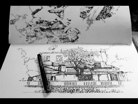 Học vẽ cũng Mỹ thuật Bụi – Luyện nét vẽ tay