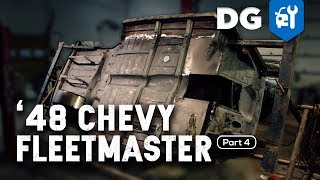 FABRICATING ON THE ROTISSERIE: '48 Chevy Fleetmaster (Part 4)