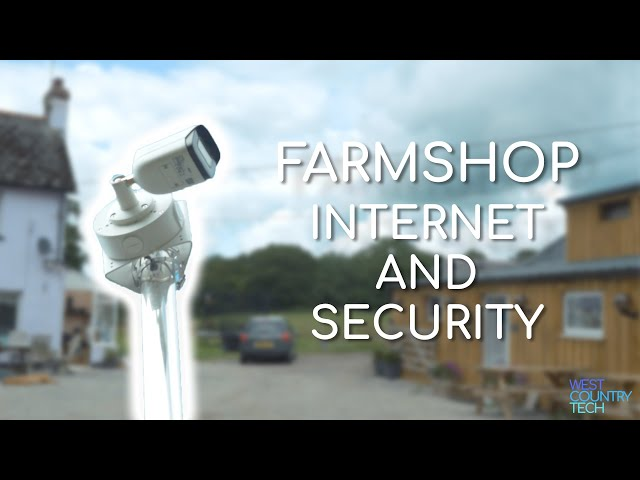 Farmshop Internet and Security