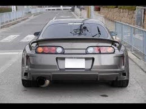 1000hp Toyota Supra burnout, exhaust sound toyota motor sesleri