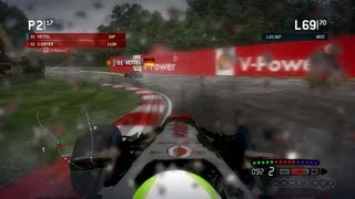 F1 2013 - Chasing Vettel in Canada Gameplay (Xbox 360)