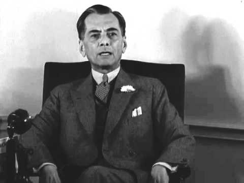 Manuel Quezon hails action of United States freeing the Philippine Islands