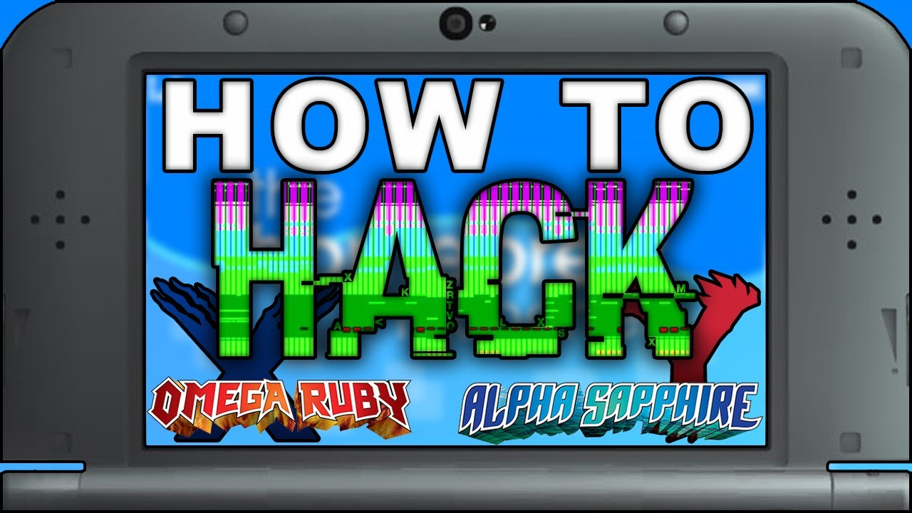 HANS: Complete Guide to Pokemon Randomizer and ROM Hacks on Nintendo 3DS -  ORAS and X Y! (Homebrew)