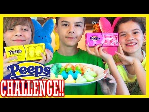 PEEPS TASTE TEST CHALLENGE!  |  KITTIESMAMA