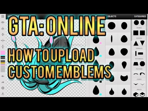 HOW TO UPLOAD A CUSTOM CREW EMBLEM! - Grand Theft Auto: Online - Tutorial
