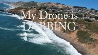 Dji Spark max distance flight test & footage(upscale to 4K) & flight time, ALSO,,, GIMBAL GLITCH