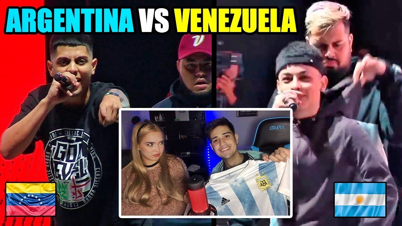 REACCIONAMOS a Argentina vs Venezuela - Cuartos - God Level Fest Chile 2019