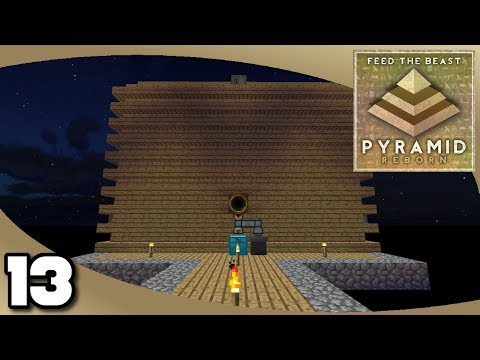 FTB Pyramid Reborn - Ep. 13: Proper Mob Farm