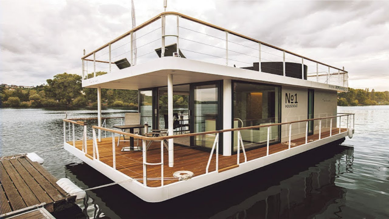 The No1 Living 40 Houseboat Youtube
