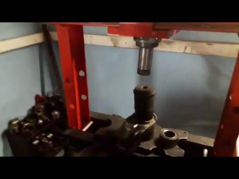 Замена сайлентблока заднего продольного рычага мицубиси лансер